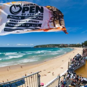 Australian Open Of surfing, Manly Beach