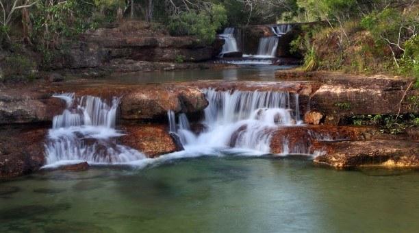 Beautiful Twin Falls Cape York