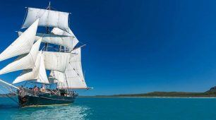 Whitsundays 4 Day Sailing Adventure on a Majestic Tall Ship
