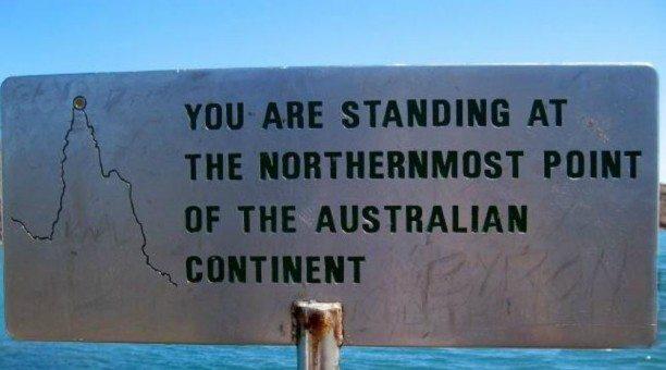 Northernmost Tip of Australia